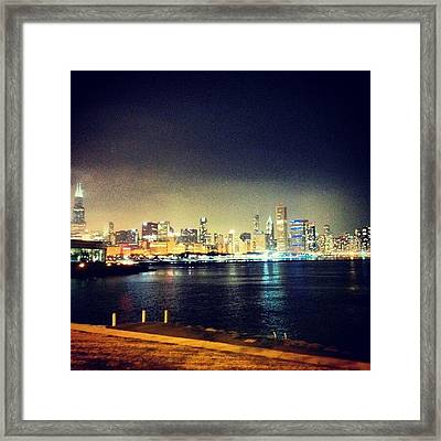 Back In Chicago Framed Print