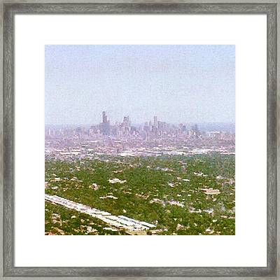 Back In My City Framed Print