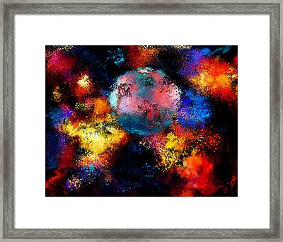 Back In The Universe Framed Print by Yury Malkov
