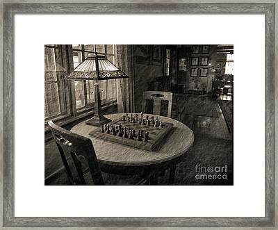 Back In Time Framed Print