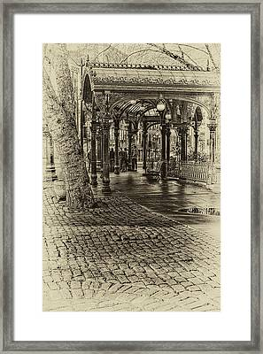 Back In Time Framed Print