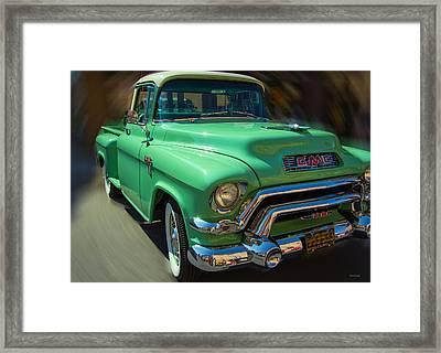 Back In Time Framed Print by Kathy Bassett