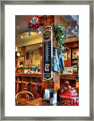 Back In Time Framed Print by Mel Steinhauer