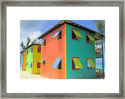 Back Of Cabins 1 Framed Print by Randall Weidner