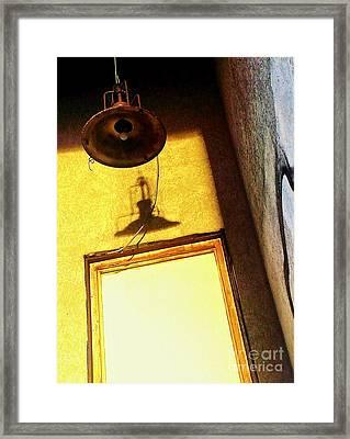 Back Of House Framed Print by James Aiken