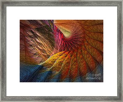 Back On Earth Abstract Art Print Framed Print