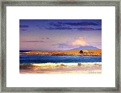 Framed Print featuring the photograph Back Paddock by Wallaroo Images