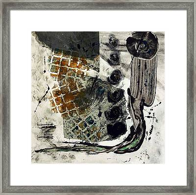 Back Path Framed Print