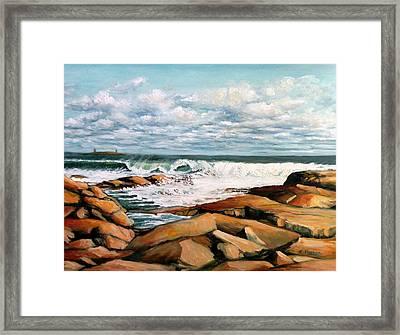Back Shore Gloucester Framed Print