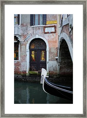 Back Through Time Framed Print