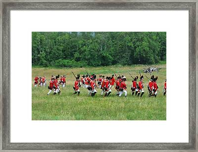 Back To Camp Framed Print by William Coffey
