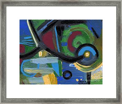 Back To Front Framed Print by Genevieve Esson