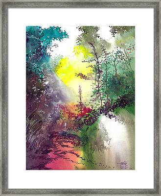 Back To Jungle Framed Print by Anil Nene