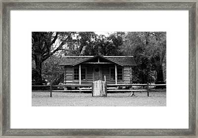 Back To School Framed Print by Sherry Gombert