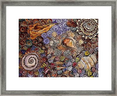 Back To The Beginning Framed Print by Lisa Aerts