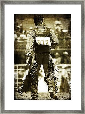 Back To The Chutes Framed Print by Lincoln Rogers