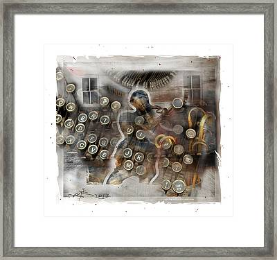 Back To The Future Framed Print by Bob Salo