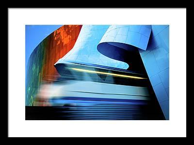Speed Metal Framed Prints