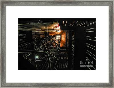 Back To The Future Framed Print by Syed Aqueel