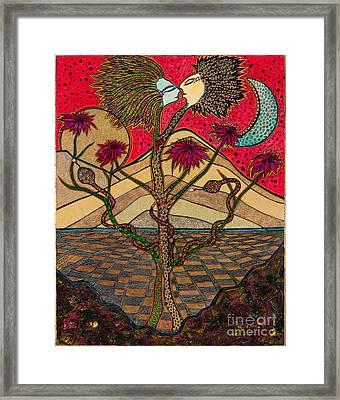 Back To The Garden Framed Print by James Hammons Art