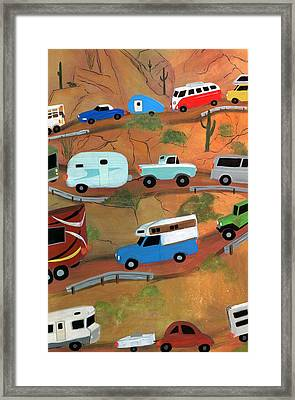 Back To The Grind Framed Print by Karyn Robinson