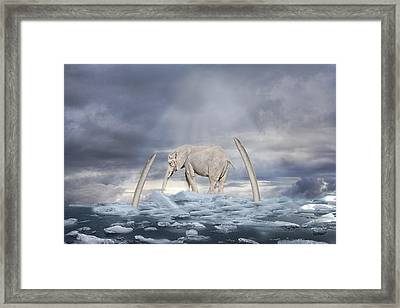 Back To The Ice Age Framed Print
