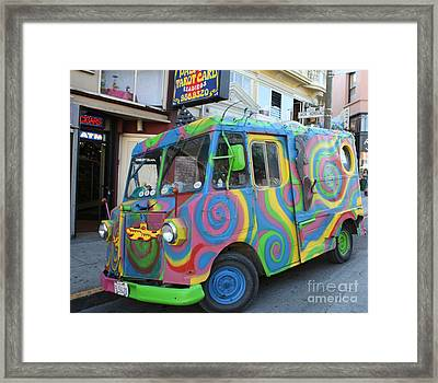 Back To The Sixties Framed Print by John Telfer