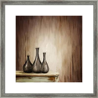 Back To Time Framed Print