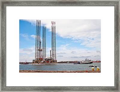 Back To Work Framed Print