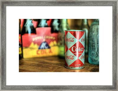 Back When Framed Print by JC Findley