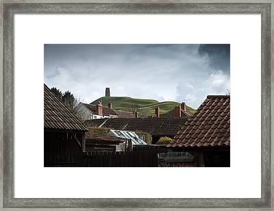 Framed Print featuring the photograph Back Yard Tor by Stewart Scott