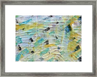 Backbeat Framed Print by Regina Valluzzi