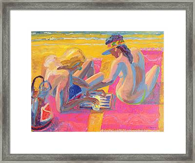 Backgammon Framed Print by William Ireland