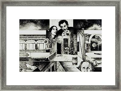 Backlane Serenade Framed Print