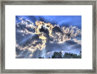 Backlight Framed Print