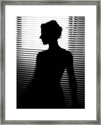 Backlight Framed Print