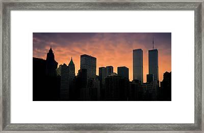 Backlit Framed Print by Joann Vitali