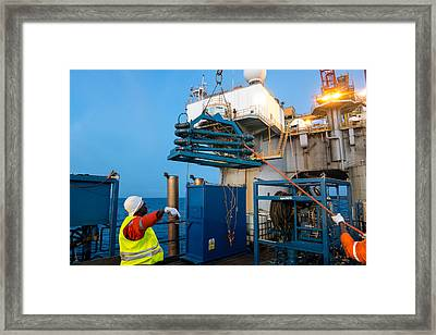Backloading Equipment 2 Framed Print