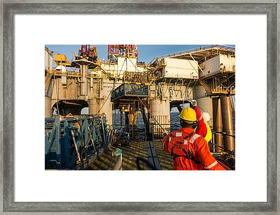 Backloading Equipment 4 Framed Print