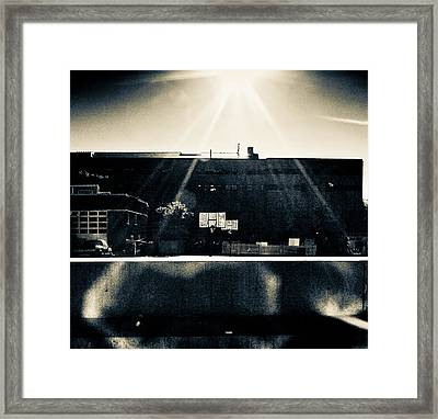 Backside Framed Print by Akos Kozari