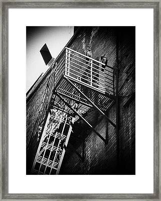 Backstreet Framed Print by Akos Kozari