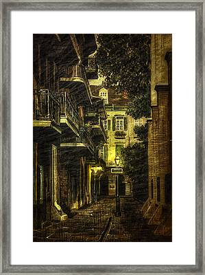 Backstreet Framed Print by Gary Smith