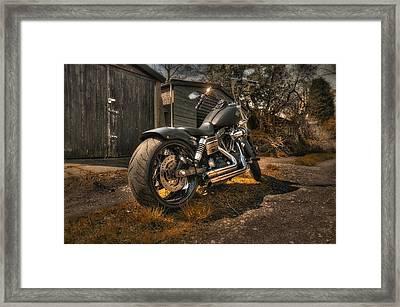 Backstreet Heroes Framed Print by Jason Green