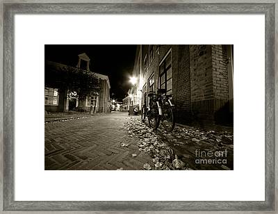 Backstreet Of Amersfoort  Framed Print by Rob Hawkins