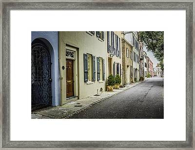 Backstreet  Framed Print by Wendy Mogul