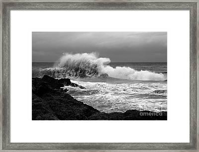 Backwash 1 Framed Print by Noel Elliot