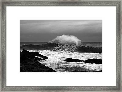 Backwash 2 Framed Print by Noel Elliot