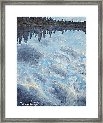 Backwater Reflections Framed Print