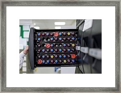 Bact-alert Blood Culture Machine Framed Print by Aberration Films Ltd