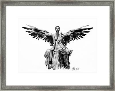 Bad Angel Framed Print